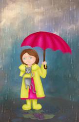 Raindrops by b0o-b0o