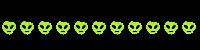 Alien Divider by PuffCats