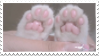 Paws Stamp by PuffCats
