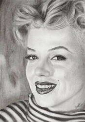 Marilyn Monroe by LindStyling