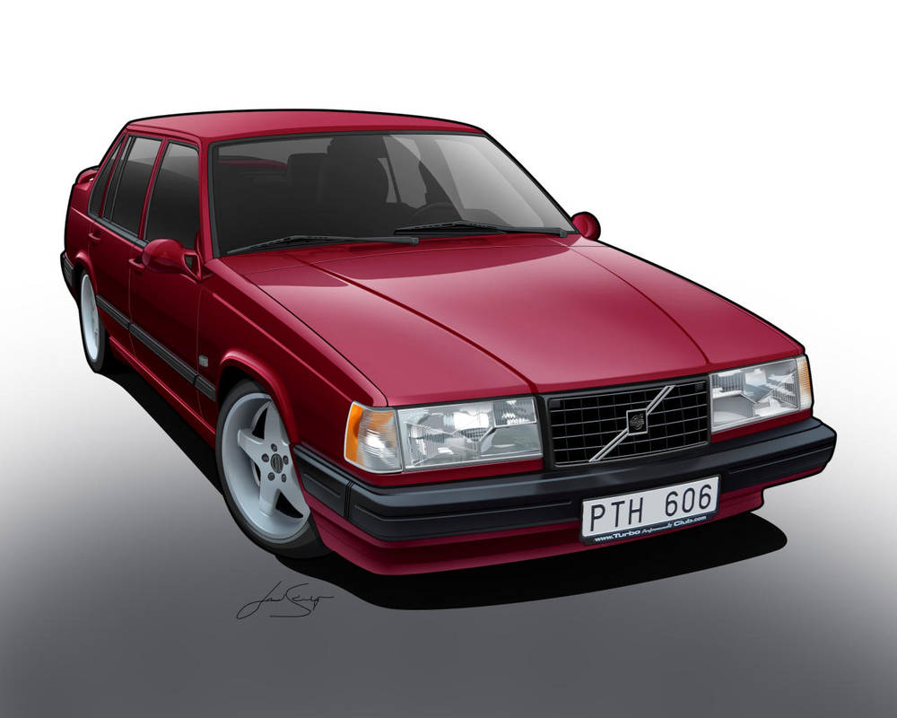 Volvo 940 Turbo Toon. by LindStyling
