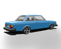 Volvo 242 1979. by LindStyling