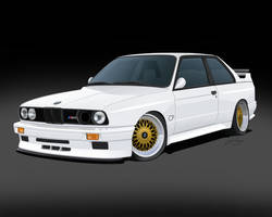 Bmw M3 E30 Toon by LindStyling