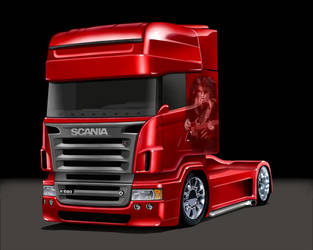 Scania R164 Toon by LindStyling