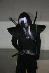 Drow Fighter by Daniphae