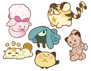 Beta Pokemon by Auriole