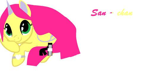 serfire  Drawing San ~ Chan As A Pony by serfire