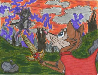 Brisby's Final Battle by SegaDisneyUniverse