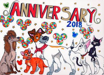 Happy Anniversary 2018 by SegaDisneyUniverse