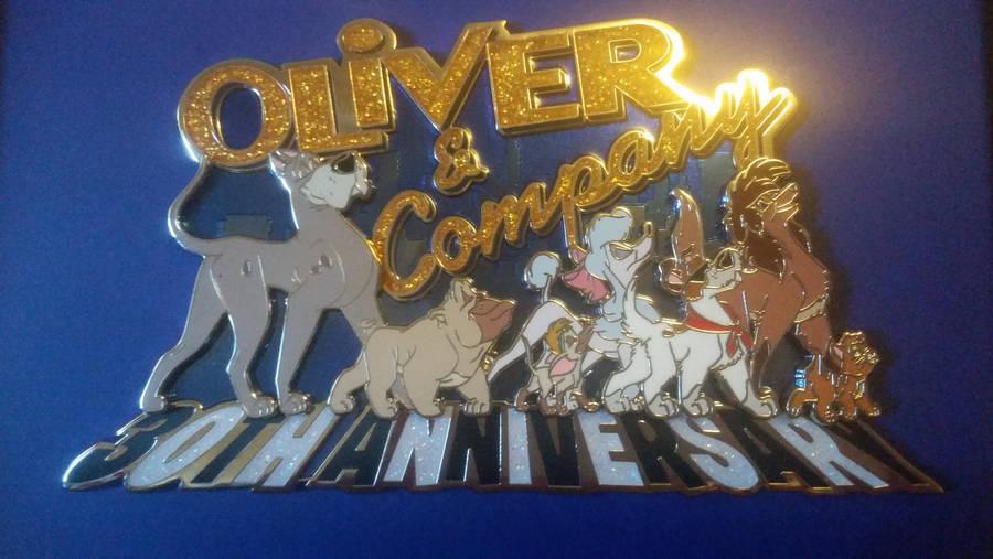 Oliver and Company 30th Anniversary Pin by SegaDisneyUniverse