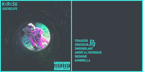 Pochette et tracklist Suicide life + Kickstarter by LordOrenamus