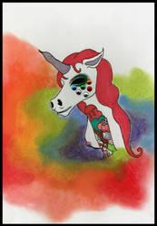 Sweet Unicorn by klydedevine