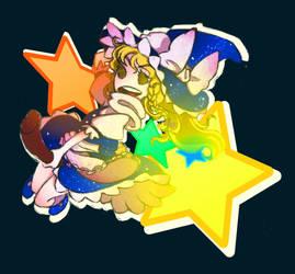 Marisa Kirisame Sticker by zacaria-world