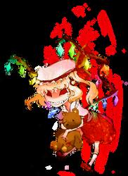 Flandre Scarlet sticker by zacaria-world