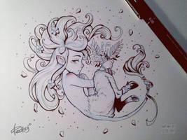 InkTober 2015 - 12 by redisoj
