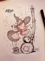 InkTober2017 Day 18 by redisoj