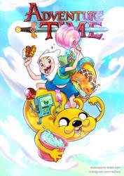 Adventure Time fan-art color by redisoj
