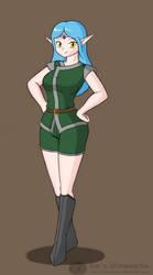 Elf Girl by Sin-R