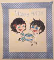 Happy 413! by Pixcel-light