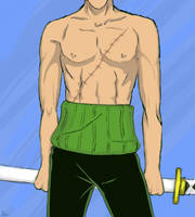 YOU KNOW YOU WANT IT ZORO ver. by kaczuch-A