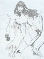Back to She-Hulk with a pinup by Jonathan Lima by zefly88
