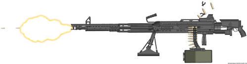 HAC Ripper-Snapper .50 BMG Heavy Machine gun. by Lugnut1995