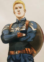 Captain America by helofoxy