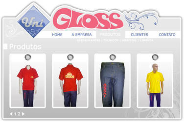 Gloss Website 2 by ge04