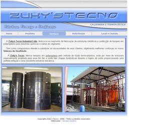 Zukys Tecno Website by ge04