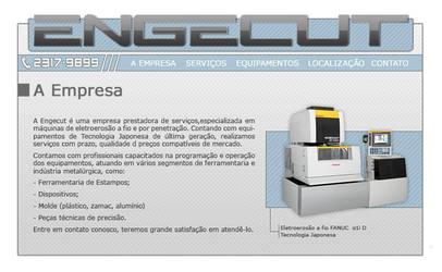 Engecut Website by ge04