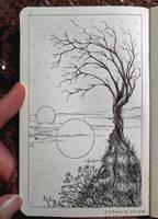 Daily Ink Sketch: 41 by Etchwyrm