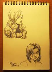 Girls portraits by Goshadude89