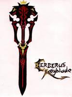 Cerberus Berserker Keyblade by Tyxerus