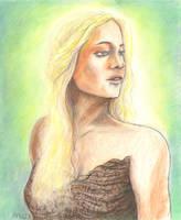 Daenerys by Lonejax