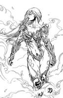Witchblade Inks by BDStevens