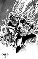 Super Skrull Inks by BDStevens