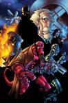 Hellboy Colored by BDStevens
