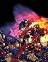 Civil War Color Battle by BDStevens