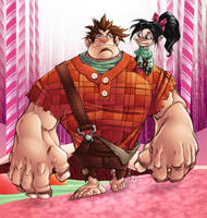 Wreck It Ralph in Color by BDStevens
