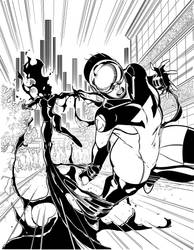 Torrent 1 By The She Cat-inks by BDStevens