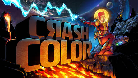 Crash Color - Title Page by BDStevens