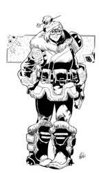 Overwatch's Mei Inks by BDStevens