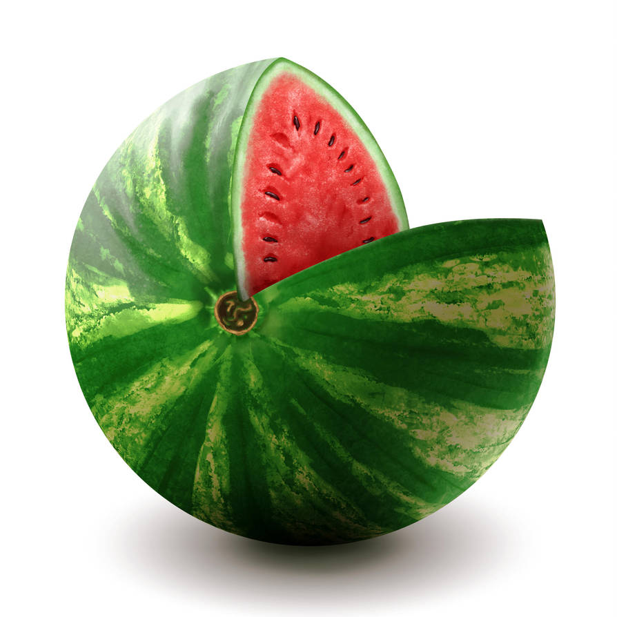 Watermelon Material Study by BDStevens