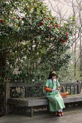 Peaceful Garden by Anaei