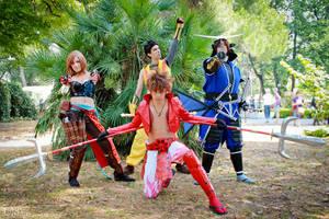 Sengoku heros by SacchyCosplay