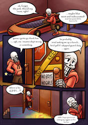 .: SwapOut : UT Comic [2-4] :. by ZKCats