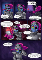 .: SwapOut : UT Comic [4-4] :. by ZKCats