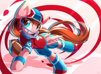 American Football by Kaleido-Art