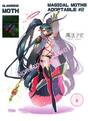 ADOPTABLE #2 - MAGICAL MOTHS - CLOSED by Noririn-Hayashi