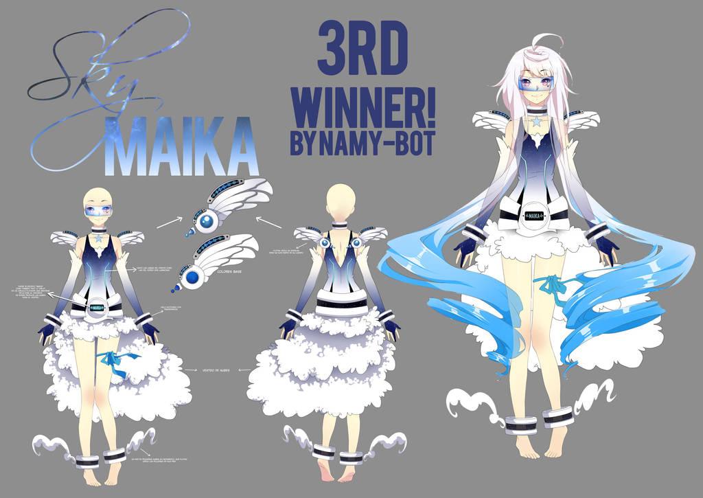 Maika Third Winner by Noririn-Hayashi